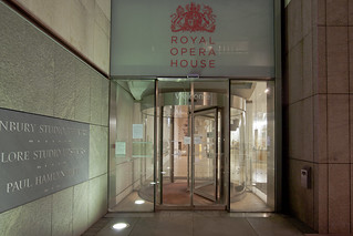 Entrance to the Royal Opera House from Bow Street © ROH 2012 | by Royal Opera House Covent Garden