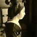 Shadows and Light - Senior Maiko Mameraku in Profile 1930s