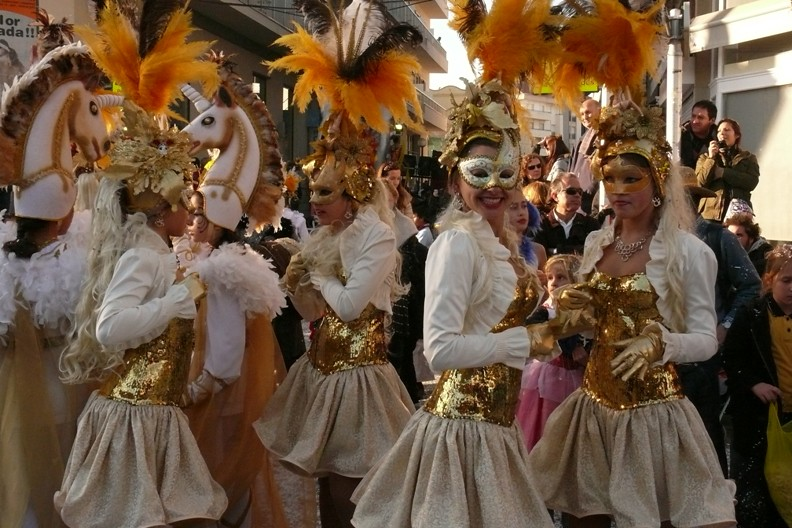 karneval Sitges - open air party