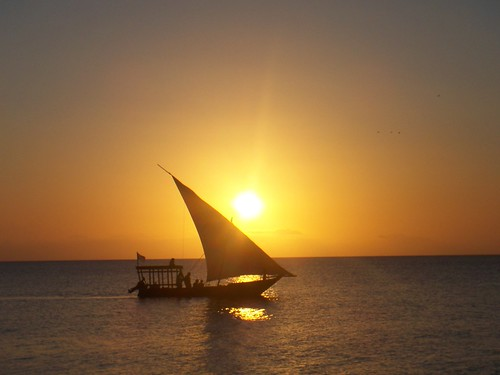 Zanzibar-Sailing Boat Sunset | by Stefan_Leitner