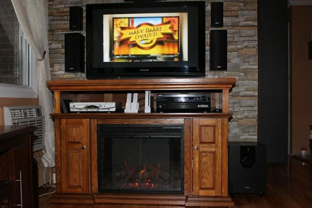 Pasadena 28 Electric Fireplace Entertainment Center In Pr Flickr