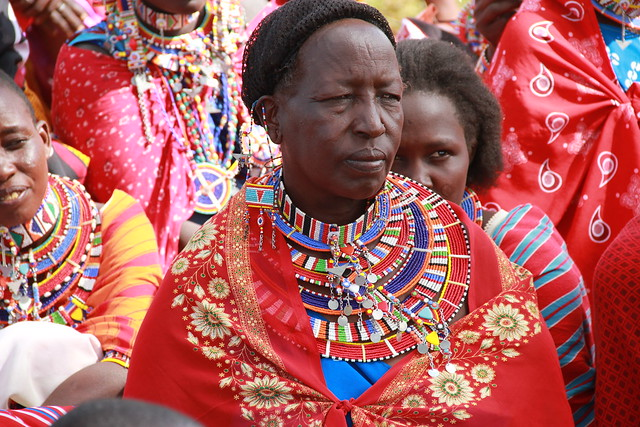 Bead working has a rich history among the Maasai women