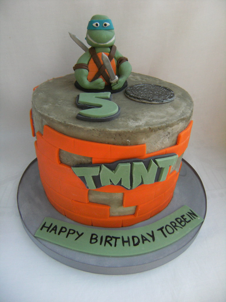 Leonardo Ninja Turtle Cake Pan