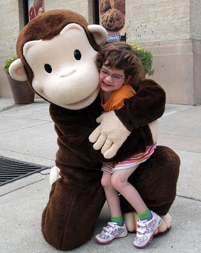 Curious George super hug | by makeawishsite