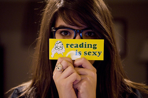 reading is sexy | by Super Furry Librarian