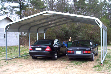 20x20 two car carport two car carports are perfect for. Black Bedroom Furniture Sets. Home Design Ideas