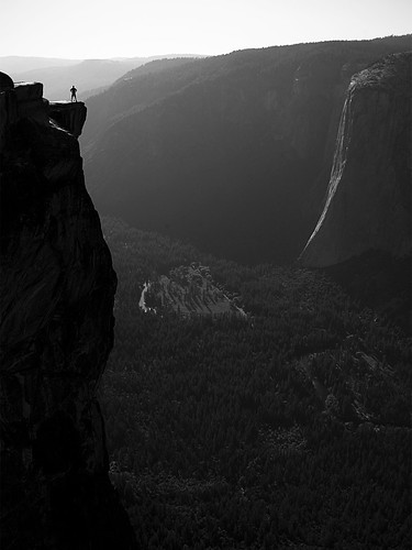 Yosemite Views: the edge of Taft Point | by gdelargy