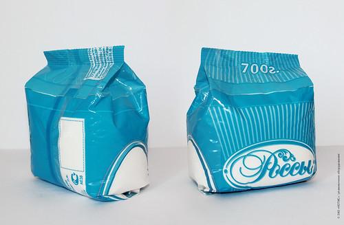Пакет с подгибок боковых граней
