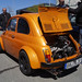 Fiat 500 F (1970) Tuning 85 PS in electric orange pearl [4] Heck