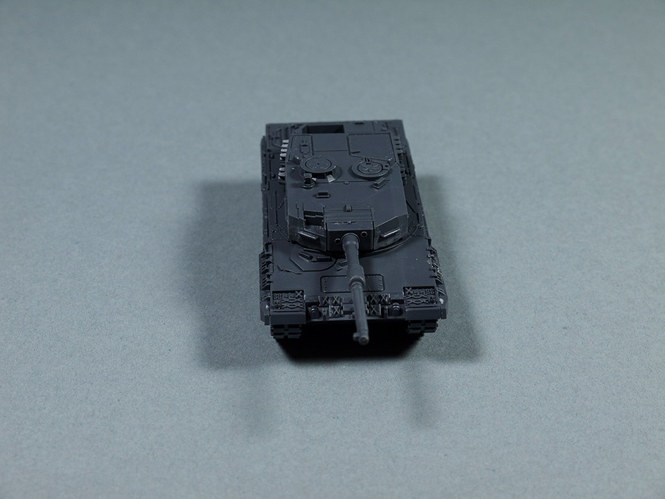 Leopard 2 assembled