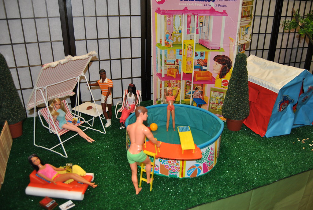 Barbie Pool Party Michel His Dolls Flickr