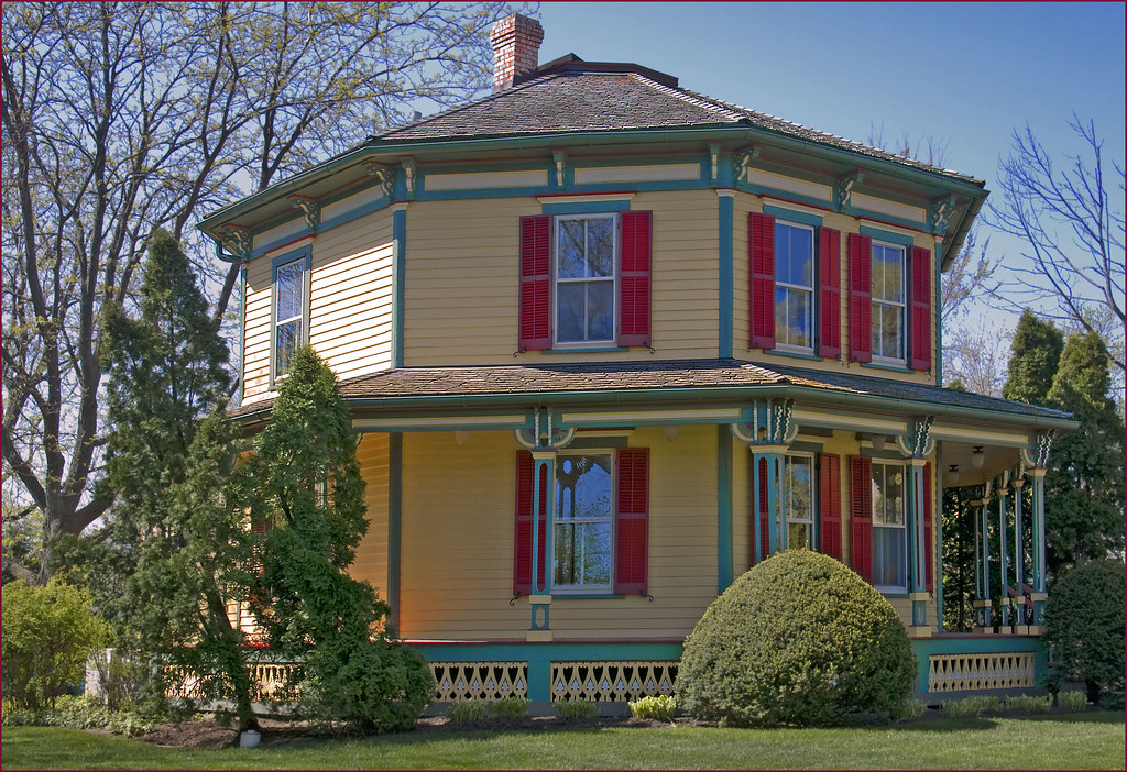 Octagon House 223 West Main Street Barrington Il Apri