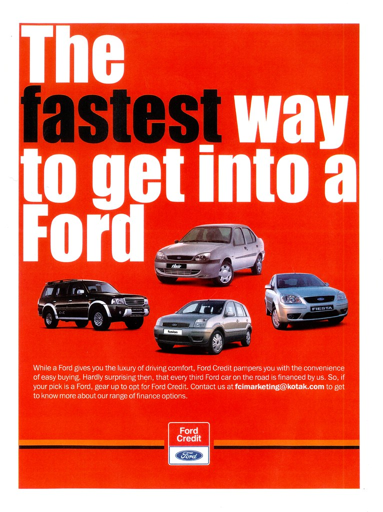Ford Credit New Car Loan Rates