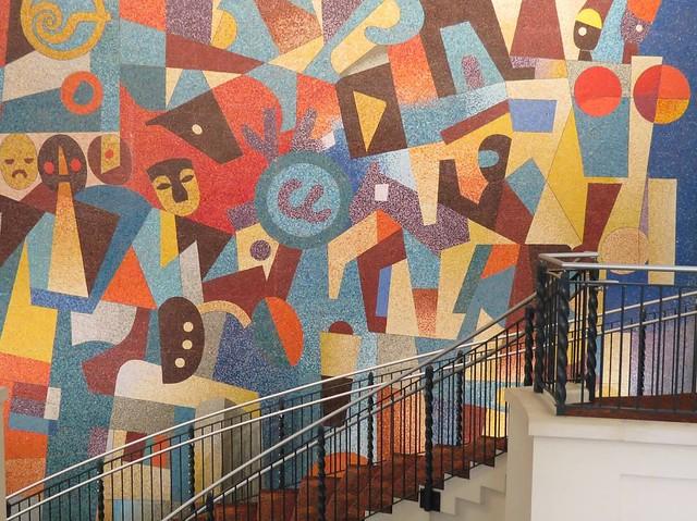 Carlos merida benito juarez mural pictures inspirational for Benito juarez mural