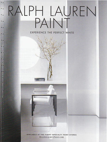ralph lauren paint experience the perfect white flickr. Black Bedroom Furniture Sets. Home Design Ideas