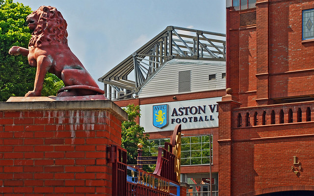 Aston Villa Strip History