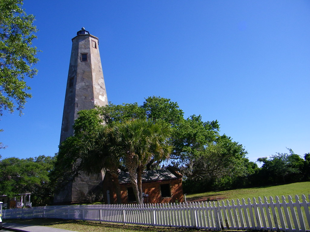 Bald Head Island Lighthouse Nc