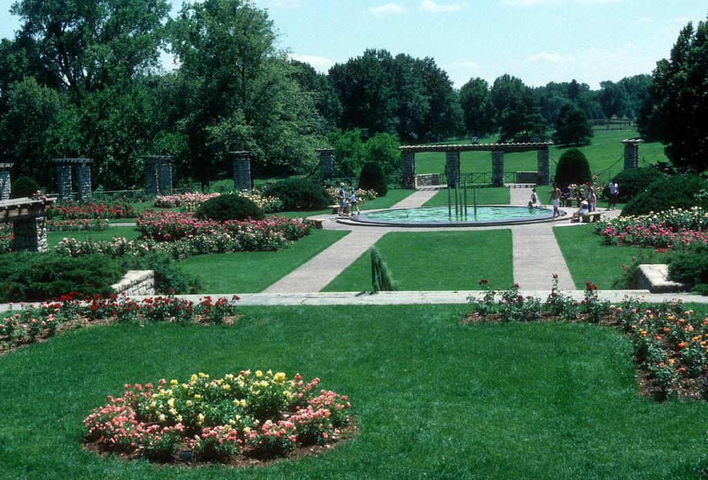 Rose Garden Loose Park Kansas City Mo 1986 The