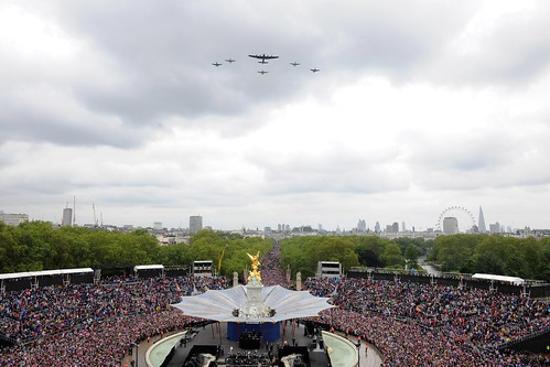 Battle of Britain Memorial Flight Flypast for the Queen's Diamond Jubilee | by Defence Images