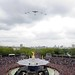 Battle of Britain Memorial Flight Flypast for the Queen's Diamond Jubilee