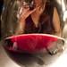 Through the wineglass
