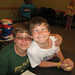 2012 June - End of School Party - Jacob and Nick
