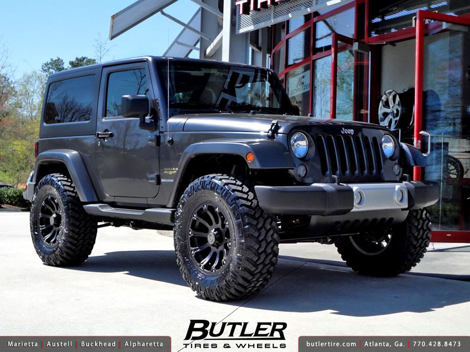 Jeep Wrangler With 18in Black Rhino Sidewinder Wheel Flickr