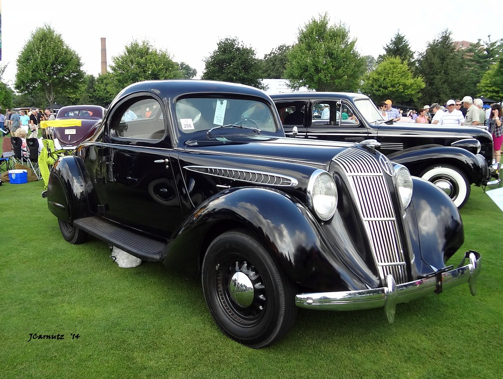 1937 Hupmobile Aerodynamic Coupe Concours D Elegance Of