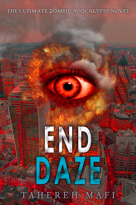 completed End Daze book cover for Tahereh Mafi