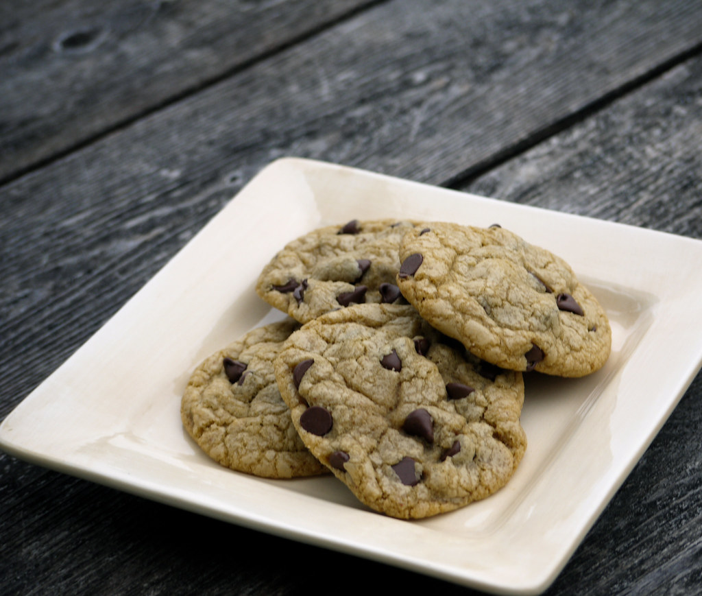 Perfect Chocolate Chip Cookies Pinterest