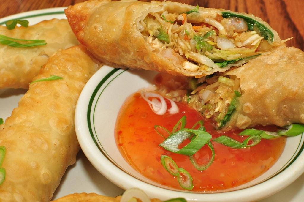 Chicken Spring Rolls Food Network