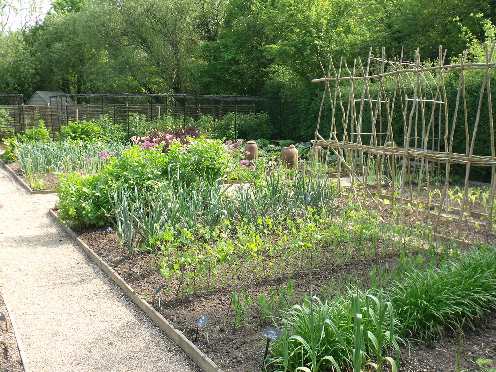 The Vegetable Garden At Perch Hill Planting In Raised Beds Flickr