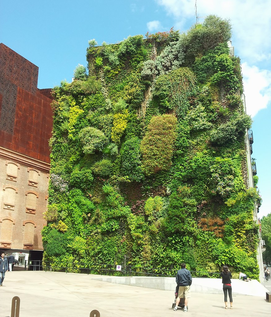 Green Wall 'Caixa Forum' Madrid