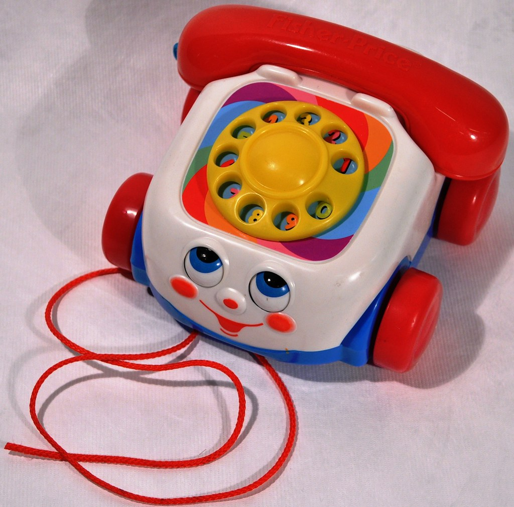 This Is A Chatter Phone Toy Made By
