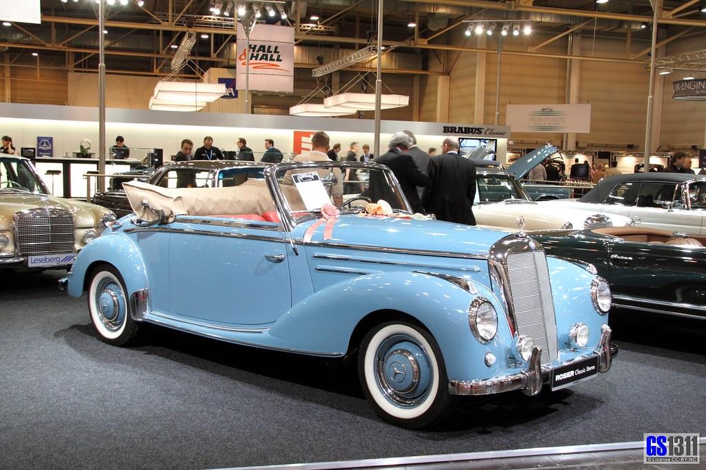 Mercedes New Model >> 1951 - 1955 Mercedes-Benz W187 (220) Cabriolet A (02) | Flickr