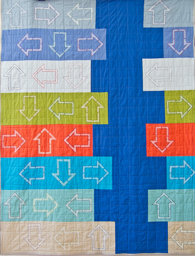 front of school auction quilt 2012 | by marianna02