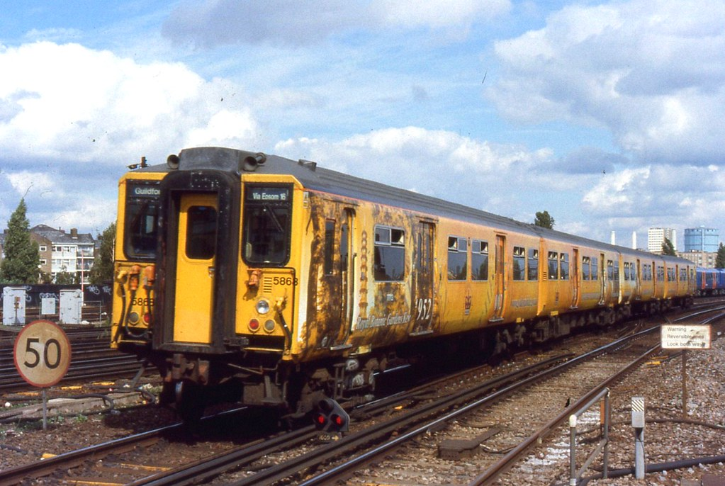 Stagecoach South West Trains 5868 Clapham Junction Sta
