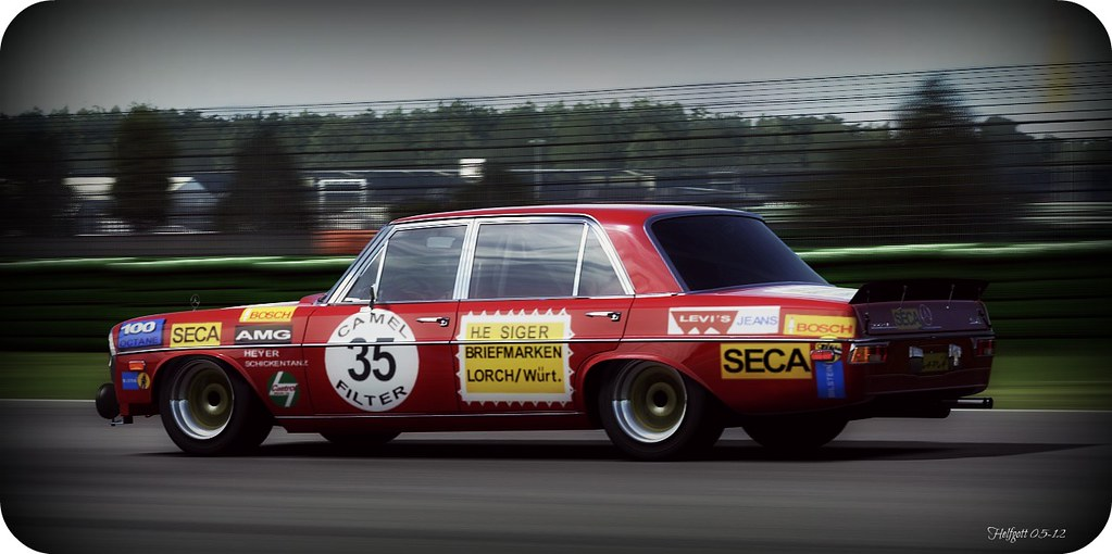 1972 Mercedes Benz 300 Sel 6 3 Amg Race Replica Photo