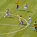 Triangulo: Messi - Higuain - Di Maria