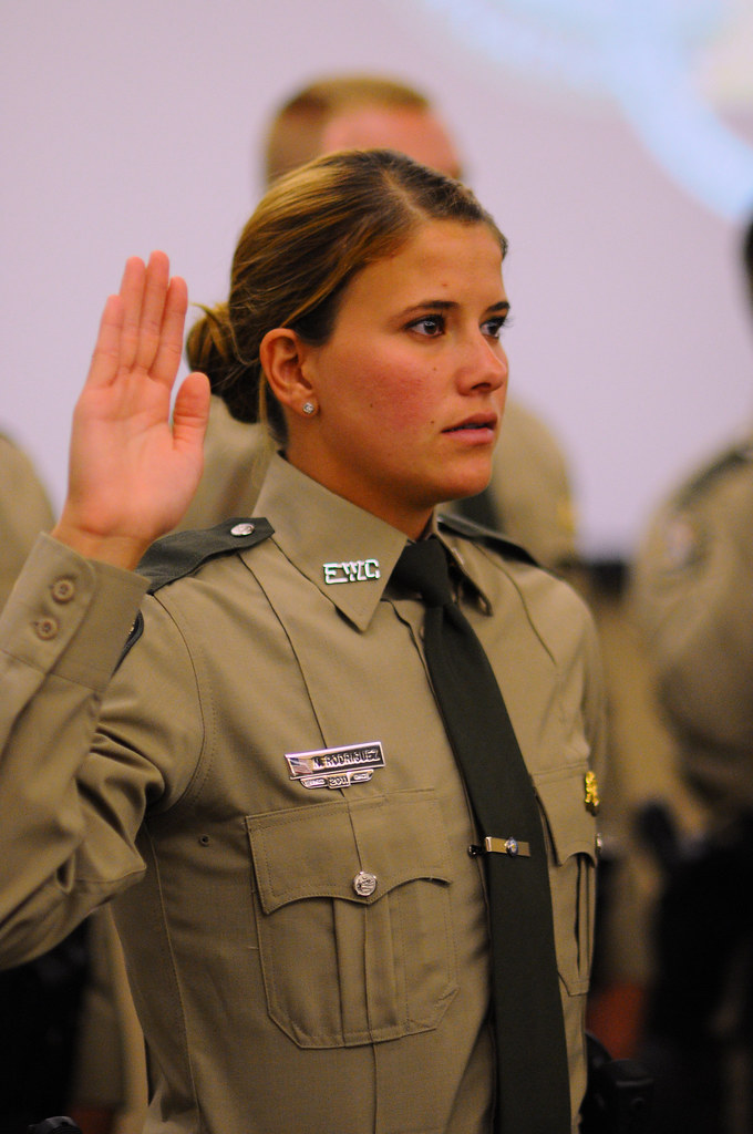 Dle class 18 graduation 12 in a ceremony at the florida for Florida fish and wildlife officer