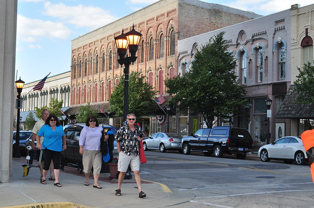 Walkability in downtown bay city flickr photo sharing - Downtown at the gardens movie times ...