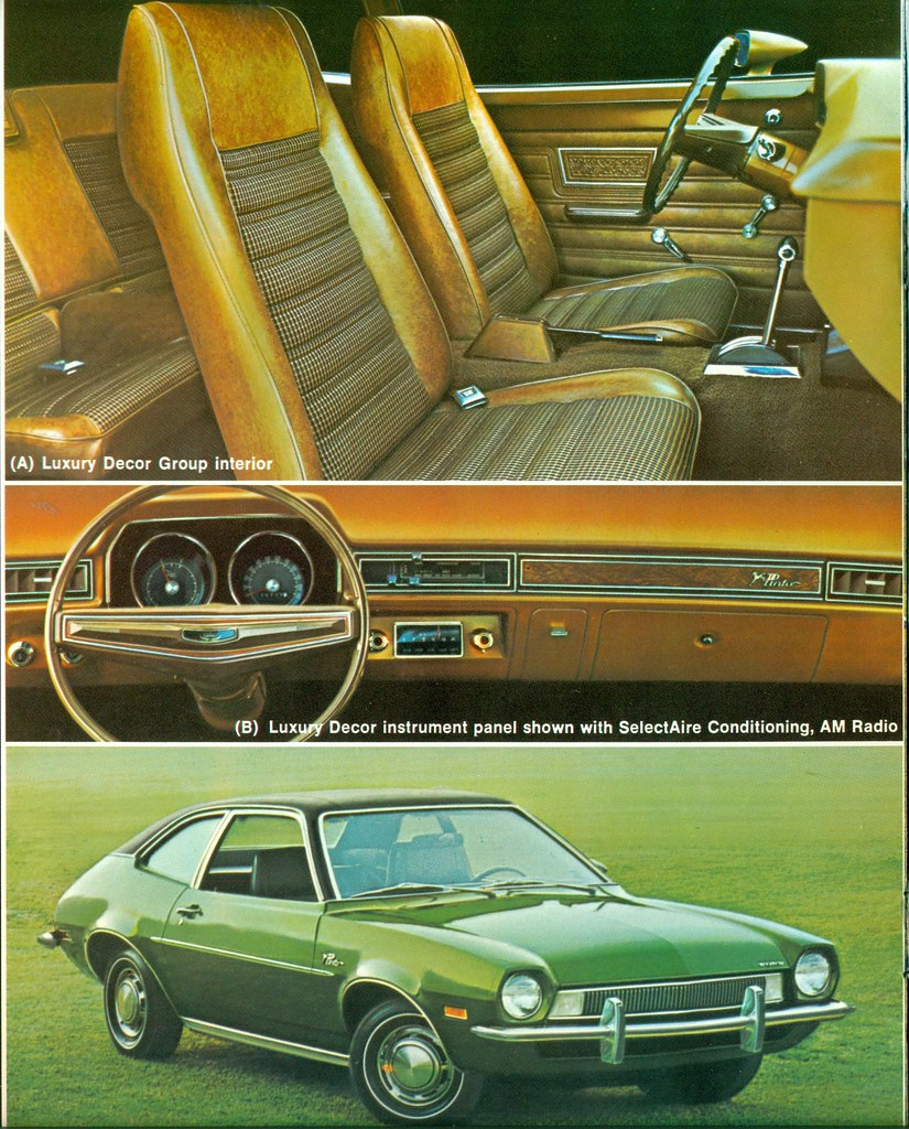 Ford Pinto Sedans And Ford: 1972 Ford Pinto 2 Door Sedan