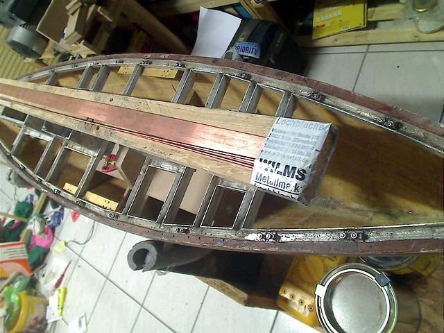 Building my Sailboat Carina from scratch 7216241470_c6202d6a96_z