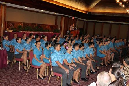Third Graduating Flight Attendant Class Of 2012 Hawaiian