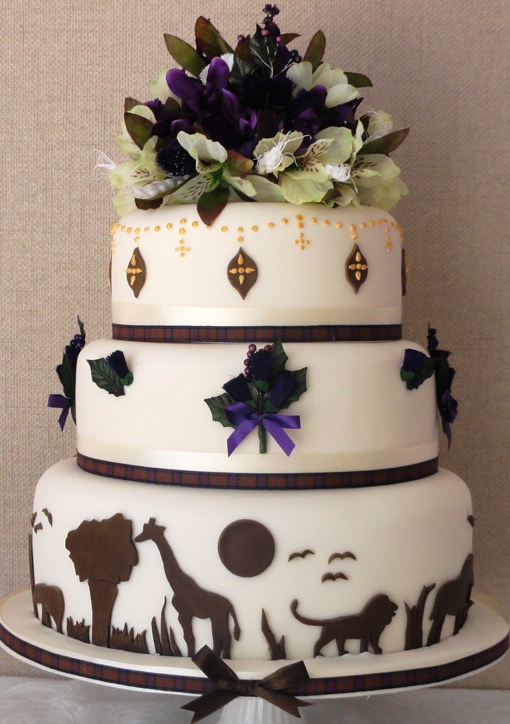 Scottish Wedding Cake