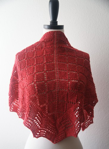 crux shawl | by fickleknitter