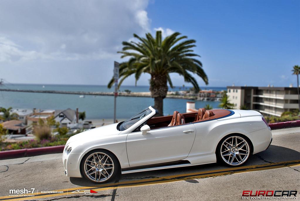 Ace Alloy Mesh 7 X Bentley Gtc 22x9 22x10 5 Ace Mesh 7