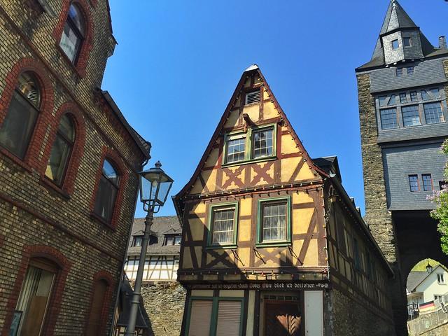 Fachadas de Bacharach (Alemania)