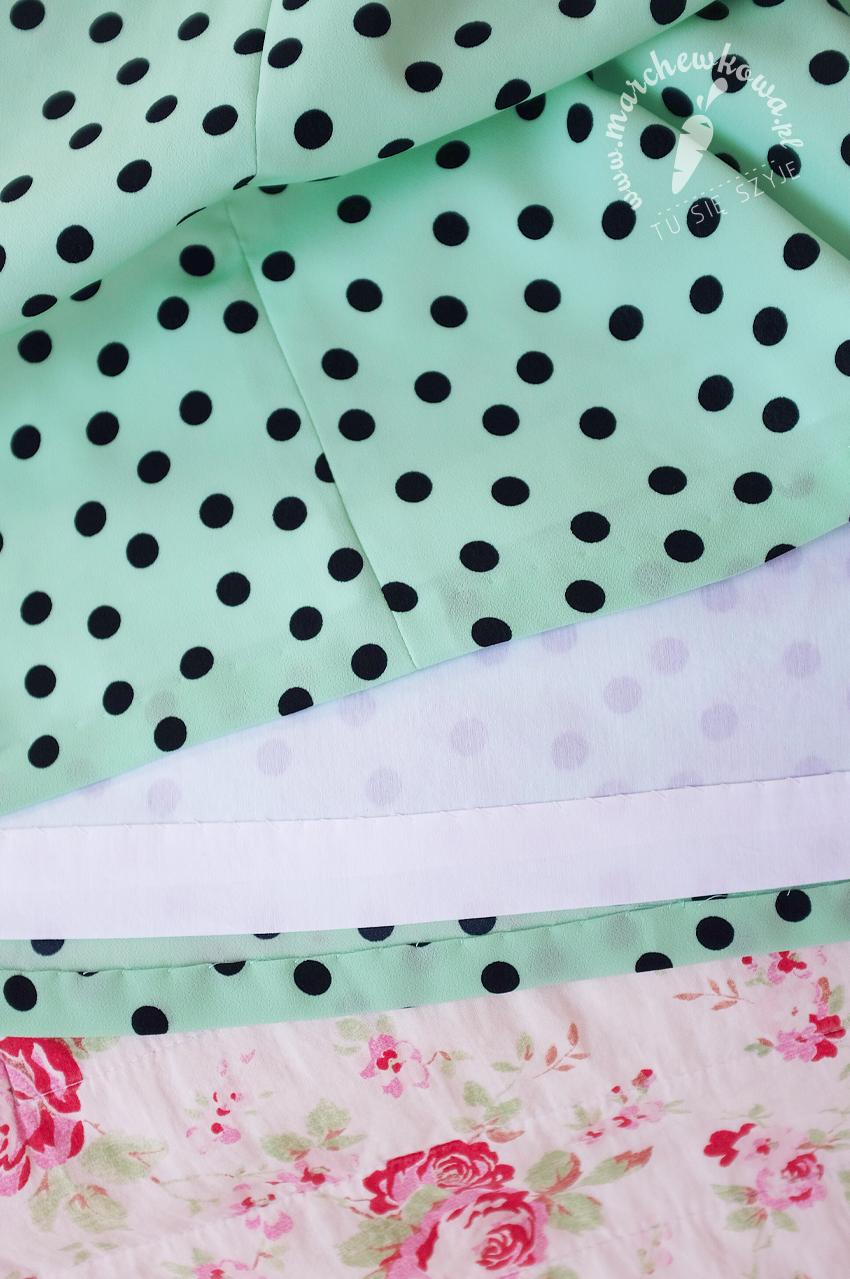 marchewkowa, blog, szycie, krawiectwo, silki crepe, krepa, lata '60., sewing 1960s, retro, vintage, fashion, Wrocław szyje, Simplicity 6910