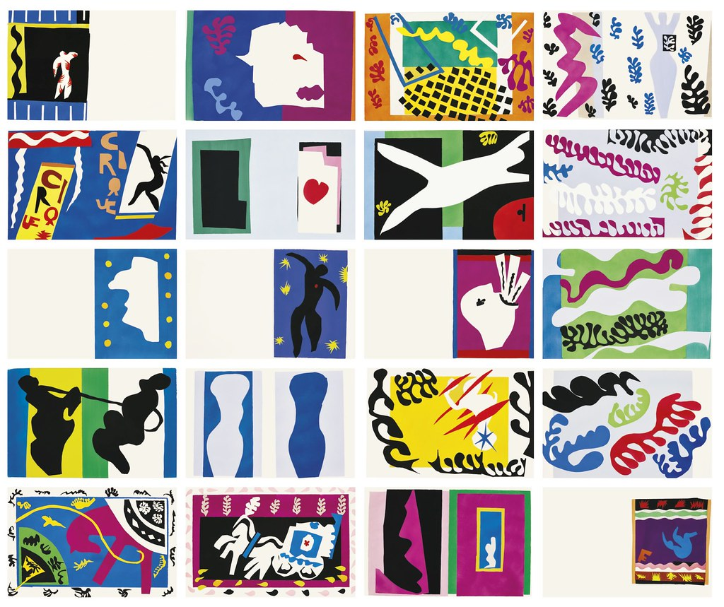 Designs Stand Out : Henri matisse jazz the combination of bright